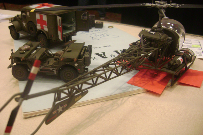 Best Jeep Accessories >> MASH Diorama at Squadron's 2010 Eagle Quest